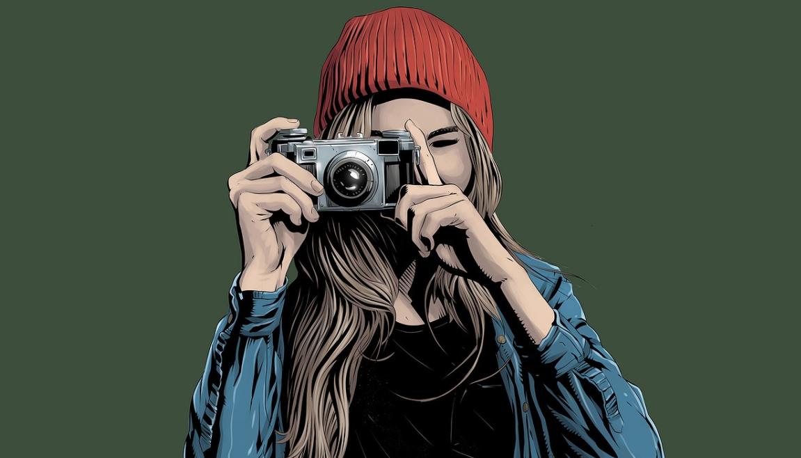 žena a focení