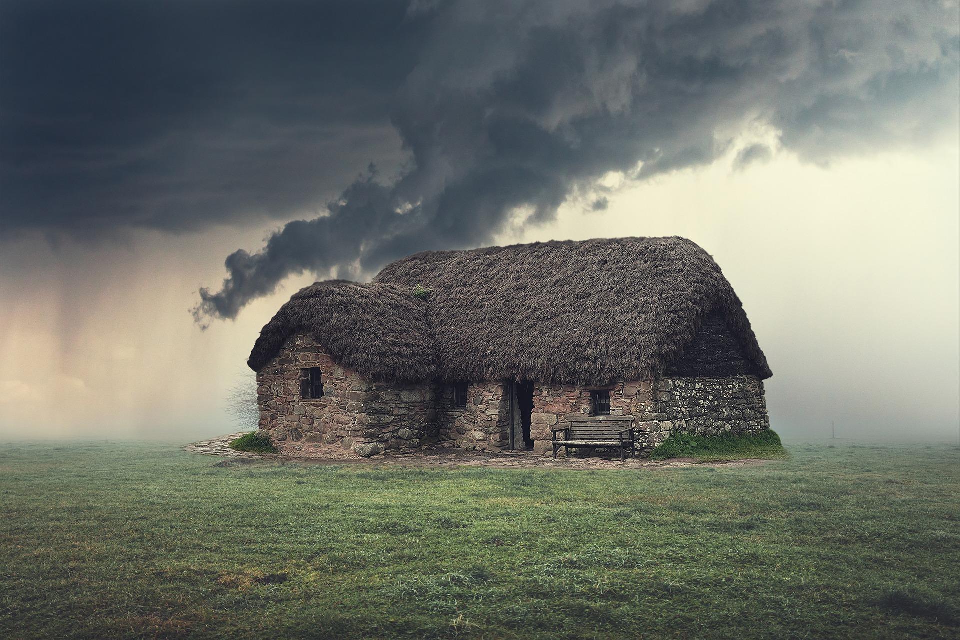 dům na louce