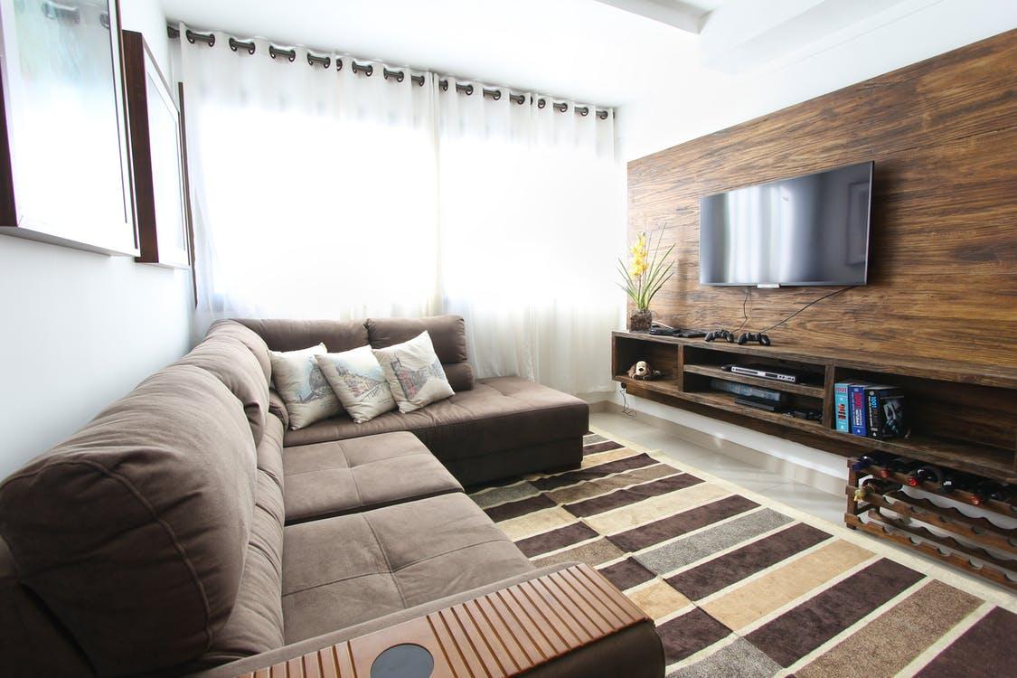 byt, obývací poko