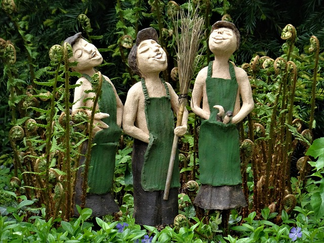 socha zahradníků