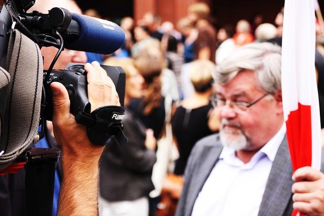natáčení zpravodajství