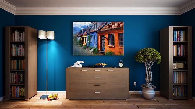 Dekorace do umělcova domu