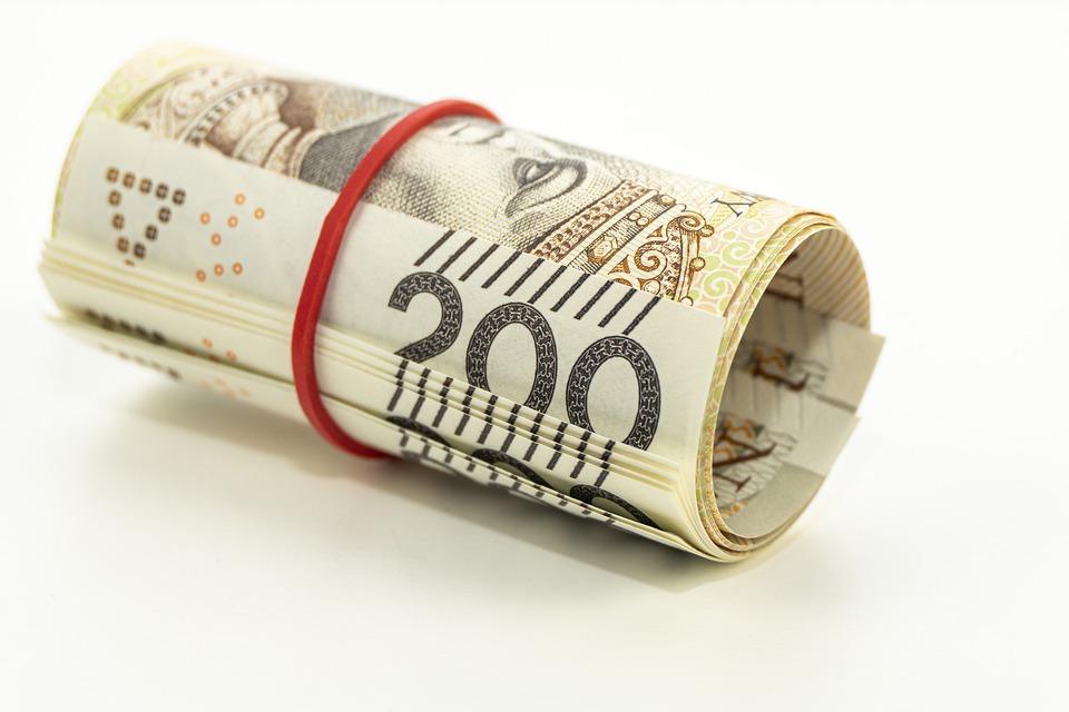rolička bankovek